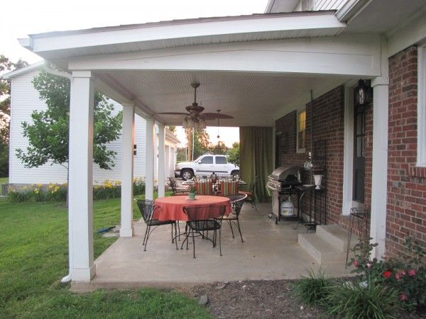 Small Solid Patio Cover. AJ Has A Lot Of Work To Do Next Spring ! | Corson  | Pinterest | Cover Picture, Patio And Nice