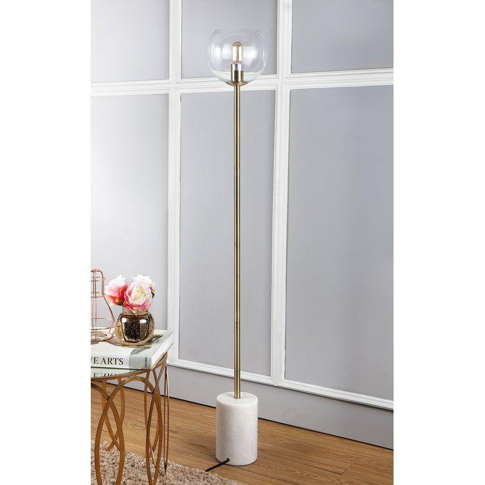 Simmon 61 Quot Floor Lamp Floor Lamp White Floor Lamp Gold Floor Lamp
