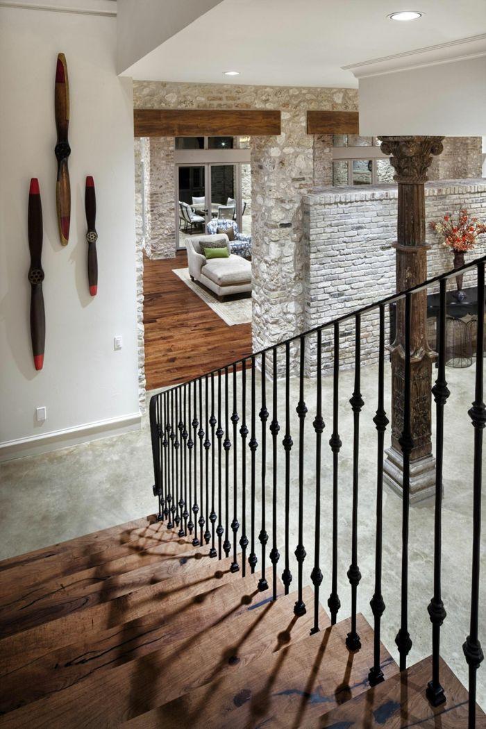 Treppen Verschönern schicke treppengeländer verschönern das moderne treppenhaus treppe