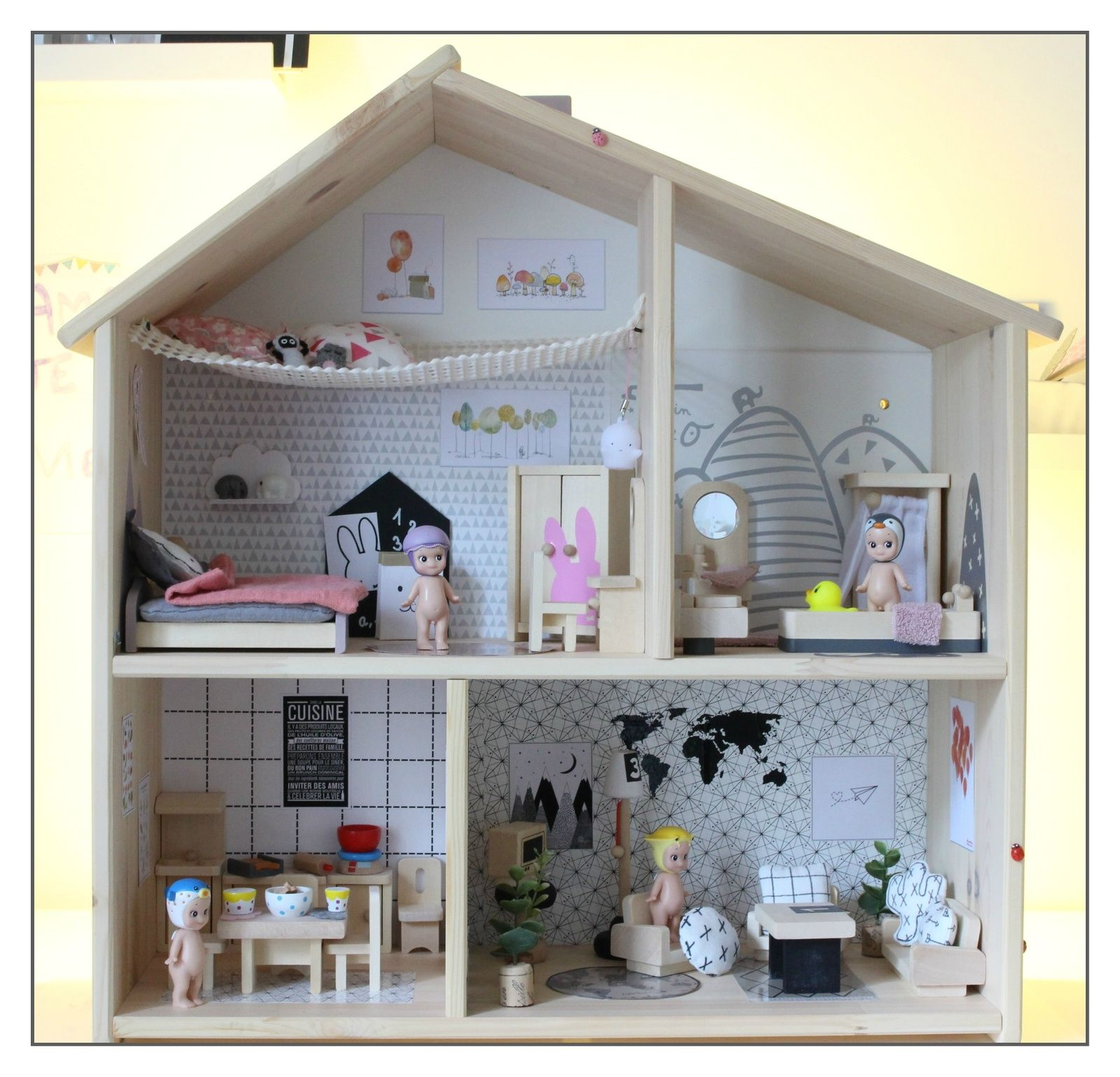 Un peu de voyage to do ikea dollhouse diy for kids diy for Ikea casa bambole
