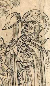 Illustration of S. Roch