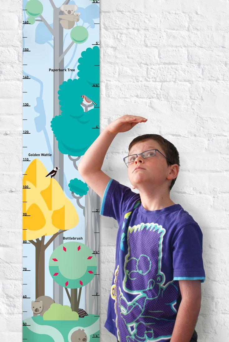 Ozzilla - 'Tall Timber' height chart. A height chart tall ...