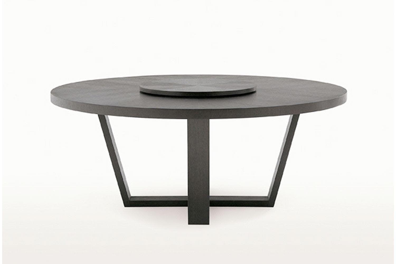 Xilos Table By Antonio Citterio For Maxalto Round Dining Table Furniture Dining Table Furniture [ 1000 x 1500 Pixel ]