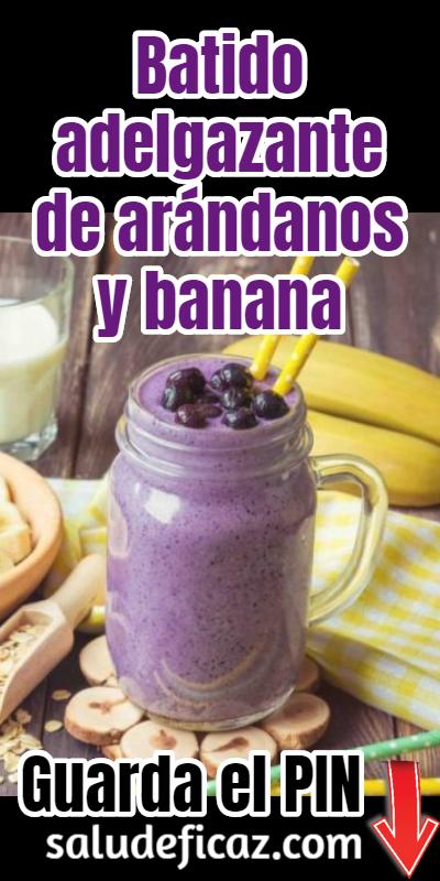 como tomar el jugo de arandanos para bajar de peso