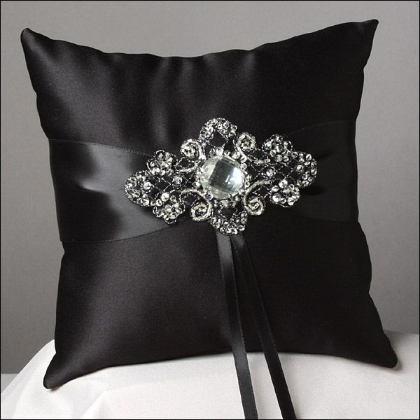Wedding Ring Pillow Wedding Pillow LARGE Wedding Ring Pillow Satin Lace Ring Pillow Ring Cushion Ring Bearer Pillow Ring Bearer
