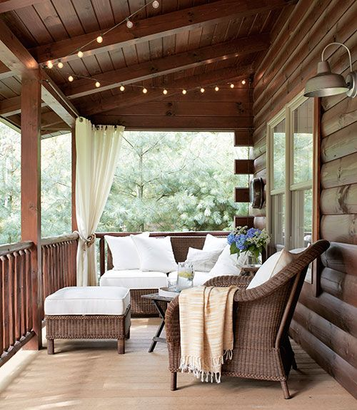Relax Inside a Calming Ohio Lake House Cabañas, Papà y Terrazas