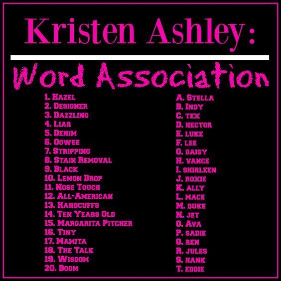 1 R 2 J 3 N 4 B 5 G 6 I 7 K 8 O 9 A 10 P 11 E 12 S 13 F 14 H 15 T Kristen Ashley Books Kristen Ashley Book Quotes