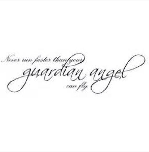 Next tattoo | Angel quote tattoo, Gaurdian angel tattoo ...