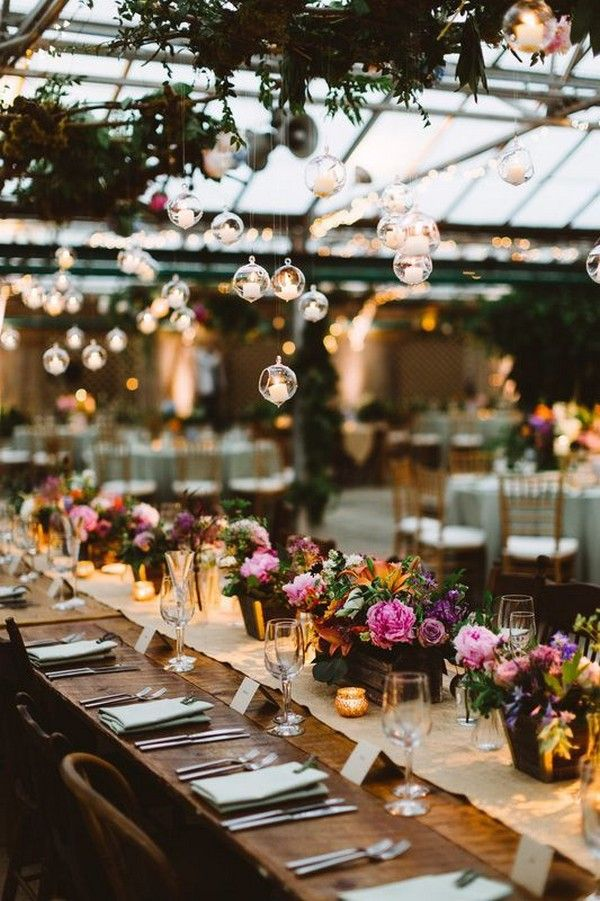 18 Amazing Wedding Reception Lighting Ideas To Try Emmalovesweddings Wedding Flower Arrangements Table Lights Wedding Decor Romantic Wedding Receptions