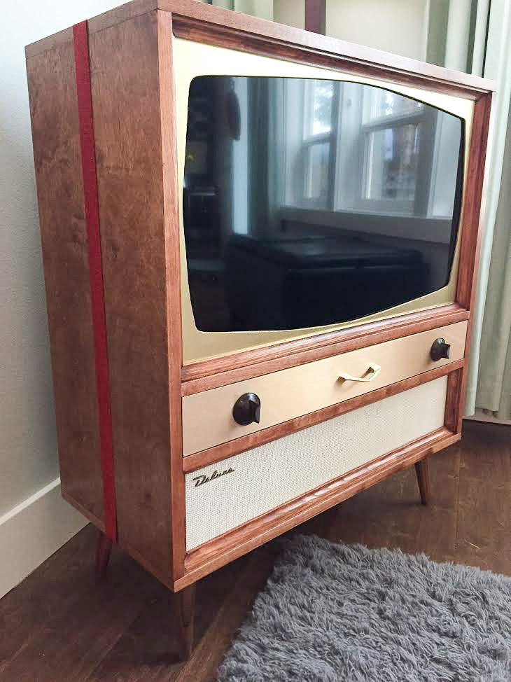 Jeff Builds A Midcentury Modern Tv Cabinet For His Flat Screen Tv