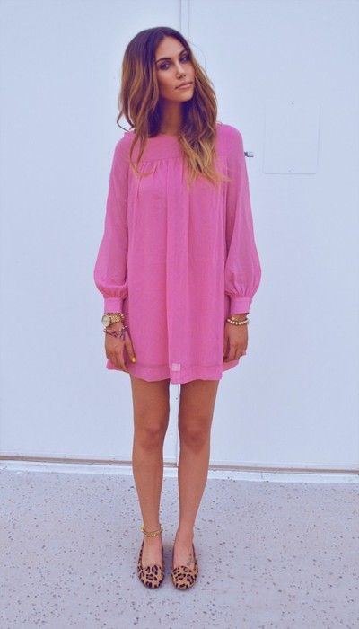 Rosa Kleid kombinieren: Welche Schuhe passen zu rosa Kleid ...