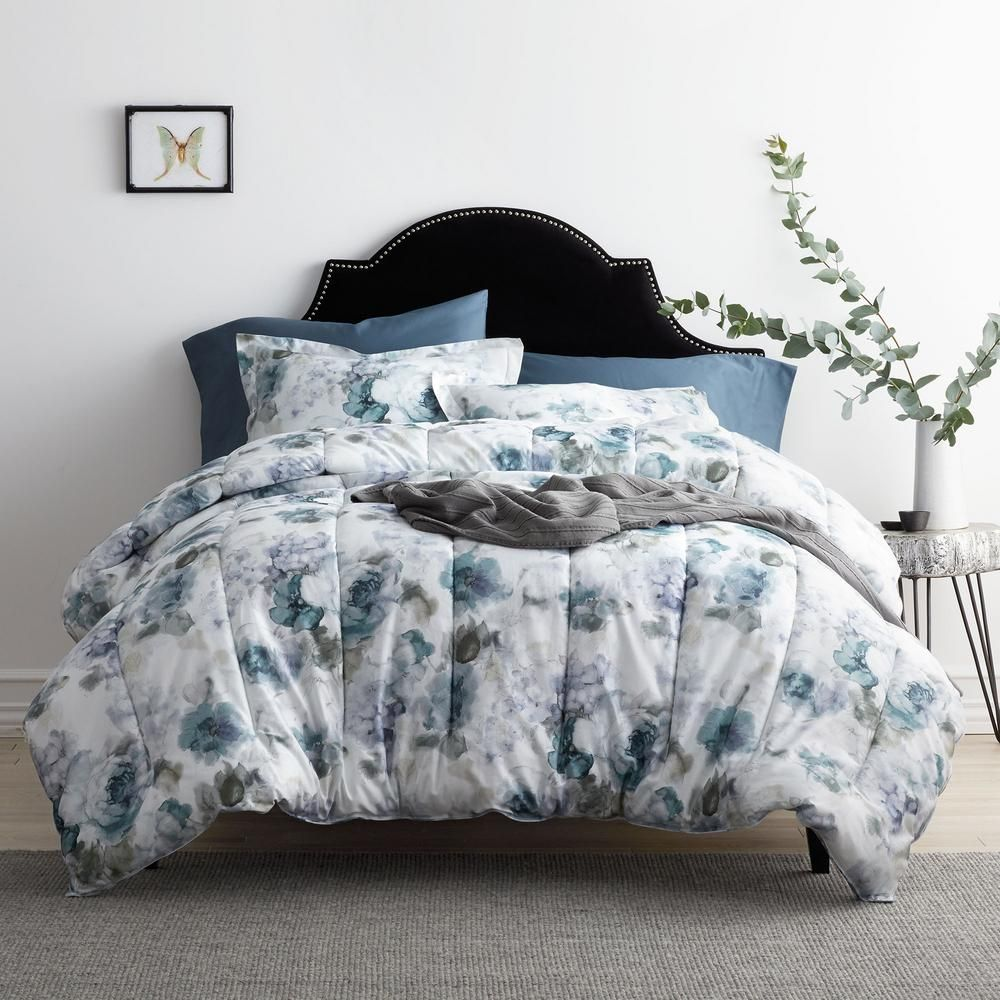 The Company Store Celina Multicolored Floral Sateen Queen