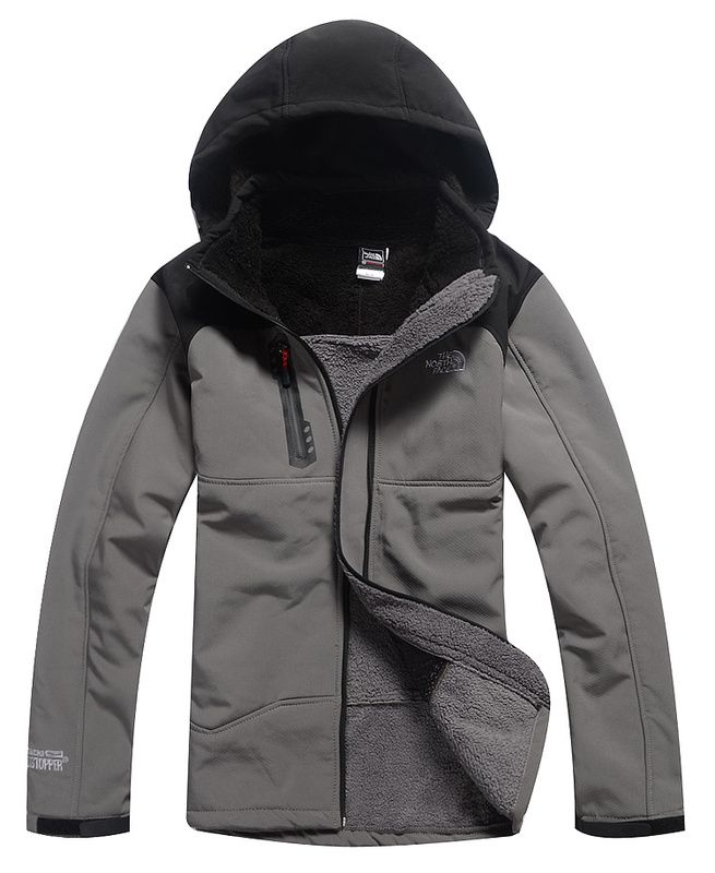 The North Face soft Men Windstopper Coats Grey