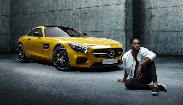 GQ UK: TINIE TEMPAH AND THE MERCEDES-AMG GT on Behance