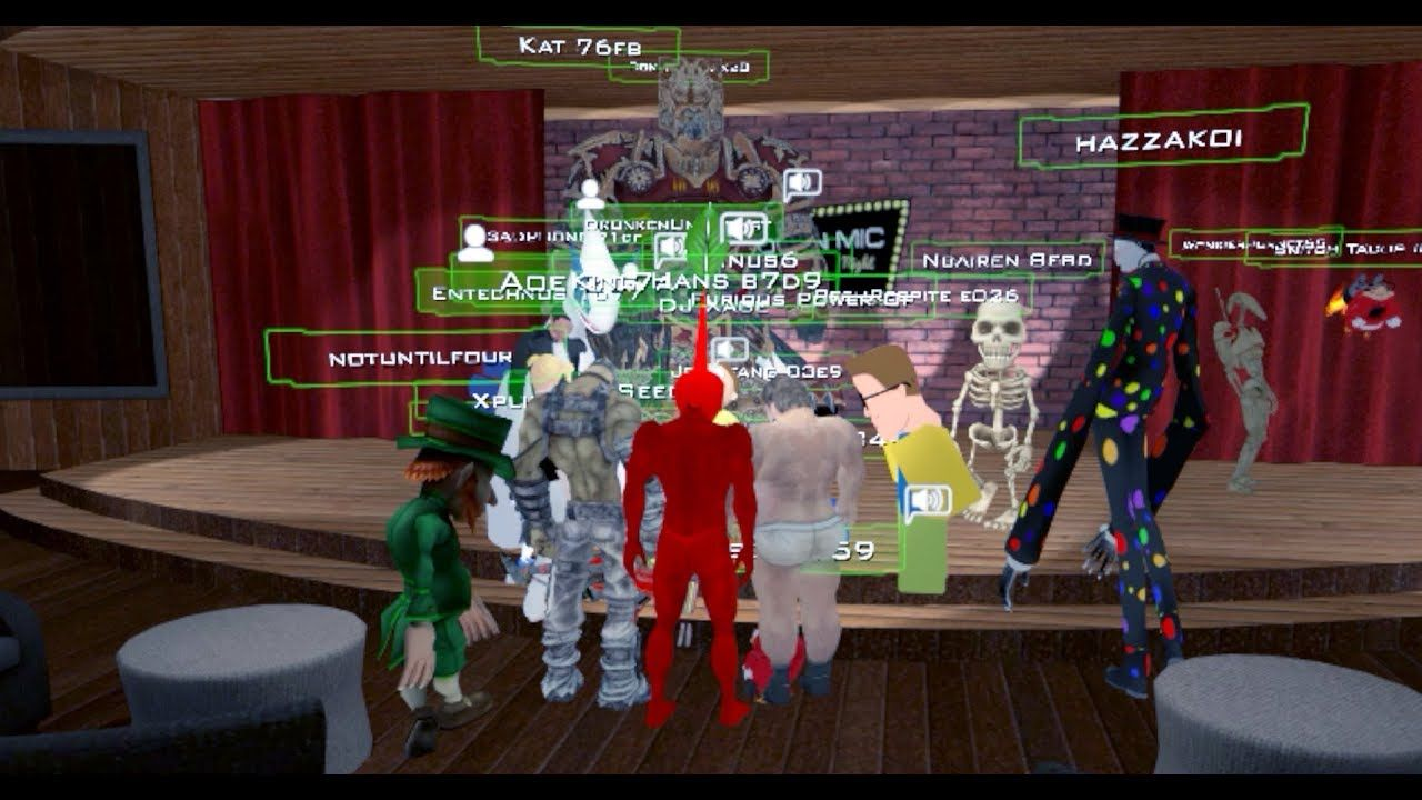 Someone in VRchat has a seizure while playing everyone stops