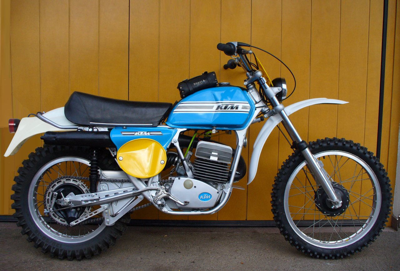 KTM GS 175 1974