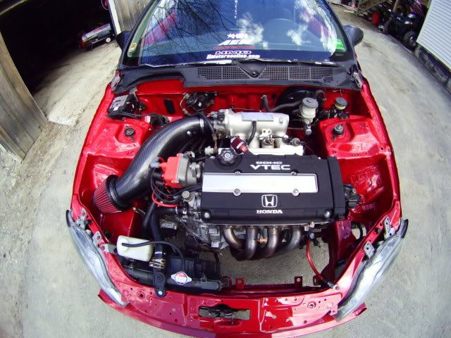 Post Your Ek S With Wire Tuck S Honda Tech Honda Civic Engine Civic Hatchback Honda