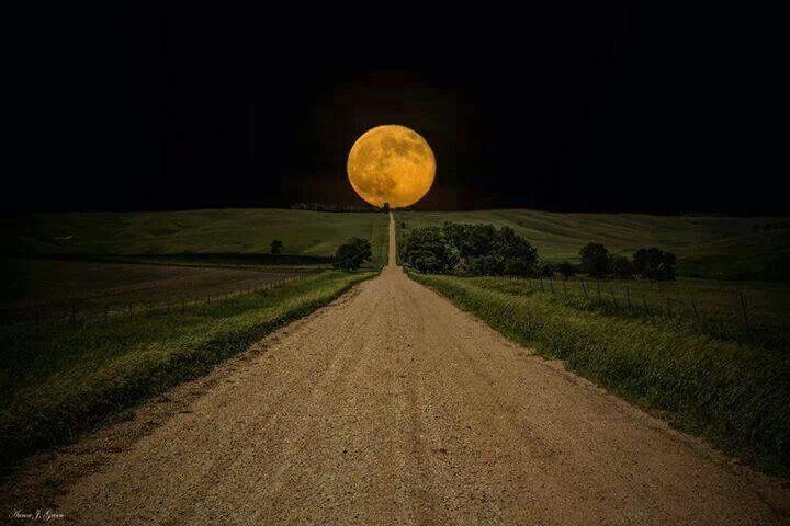 South Dakota moon