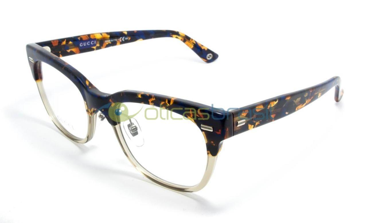 Gucci GG 3747 XFP - Óculos de Grau A Óticas Brasil oferece um grande  estoque de d0c09df24a