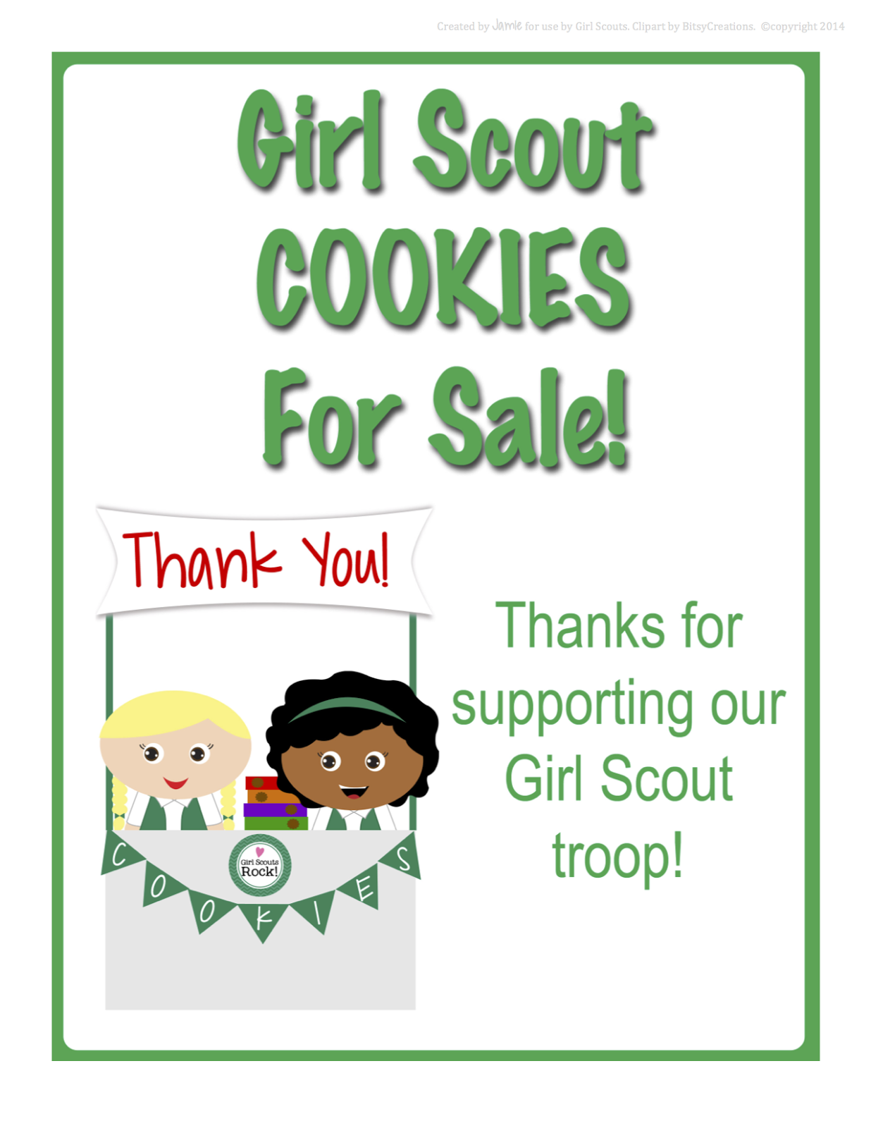 Fashionable Moms: Girl Scouts - FREE Printable Cookie ...