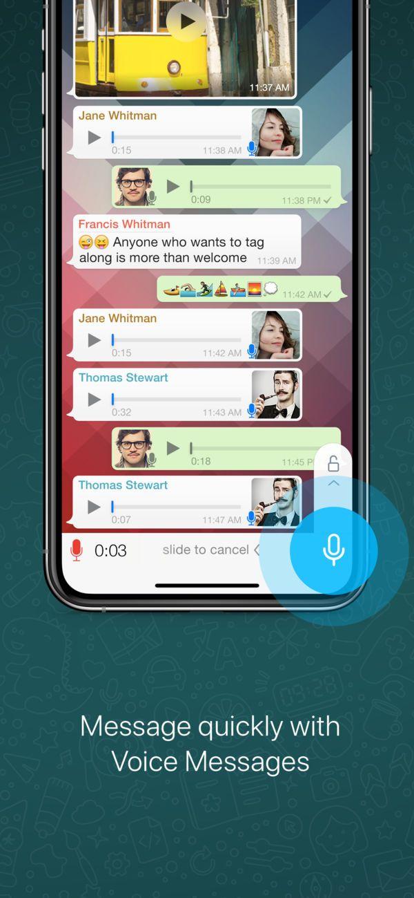 WhatsApp Messenger en App Store Temas de whatsapp, Ipod