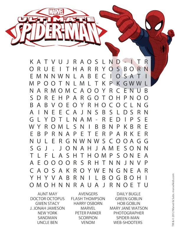 Free #Superhero Printables - Lots of fun printables including ...