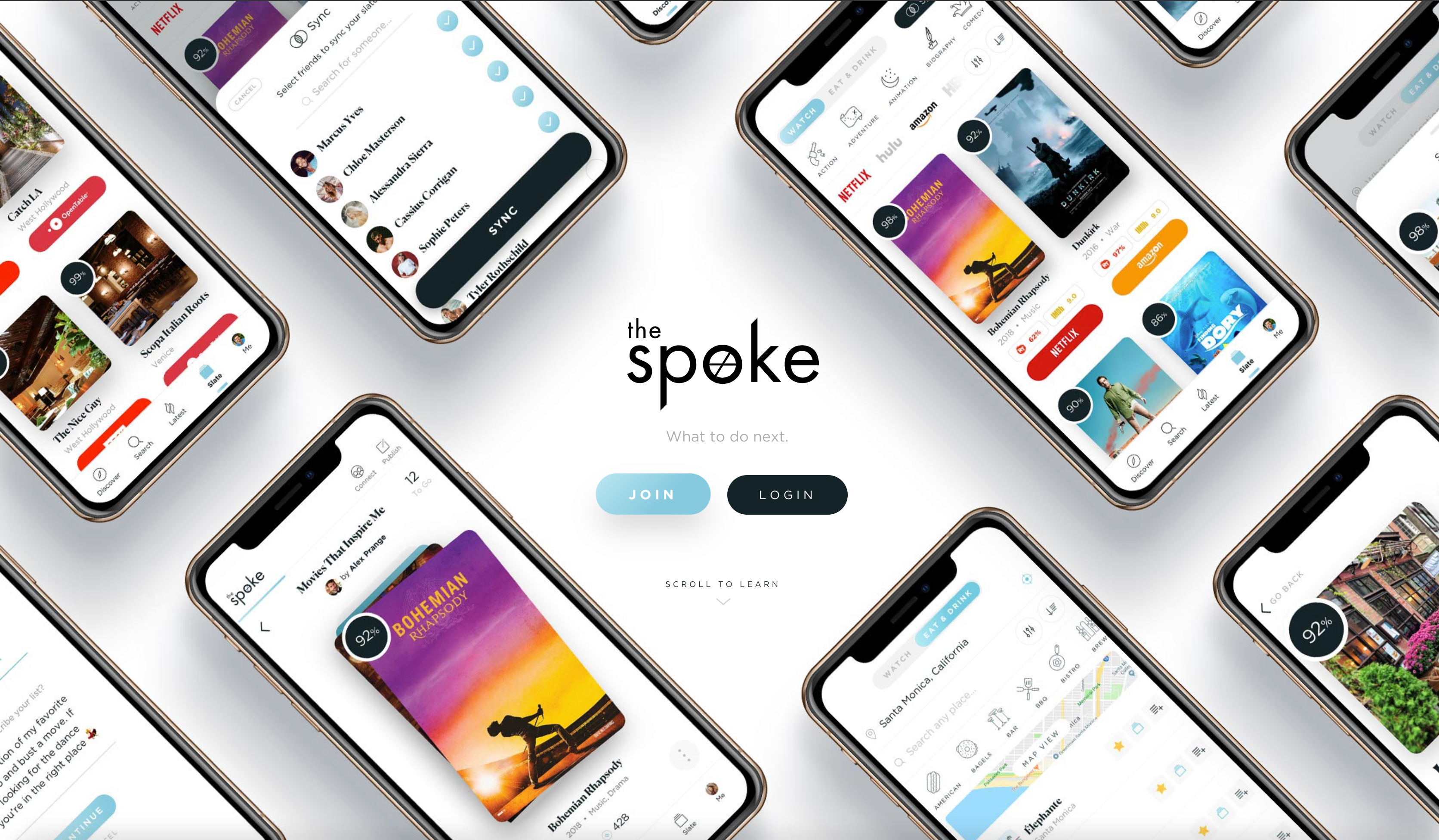 Hot new product on Product Hunt The Spoke 2.0 A social