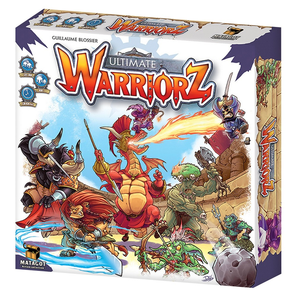 Matogot Ultimate Warriorz Board games, Games box, Board