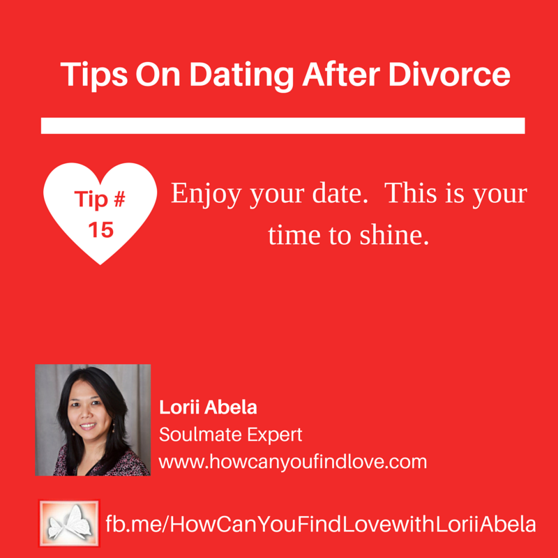 Dating after divorce tips for women