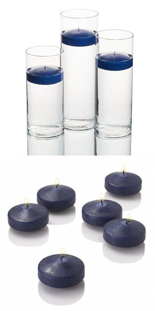 36 Eastland Cylinder Vases And 3 Navy Blue Richland Floating