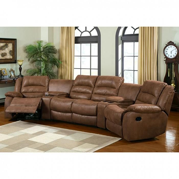 The Furniture Of America Manchester Sectional Is What You Have