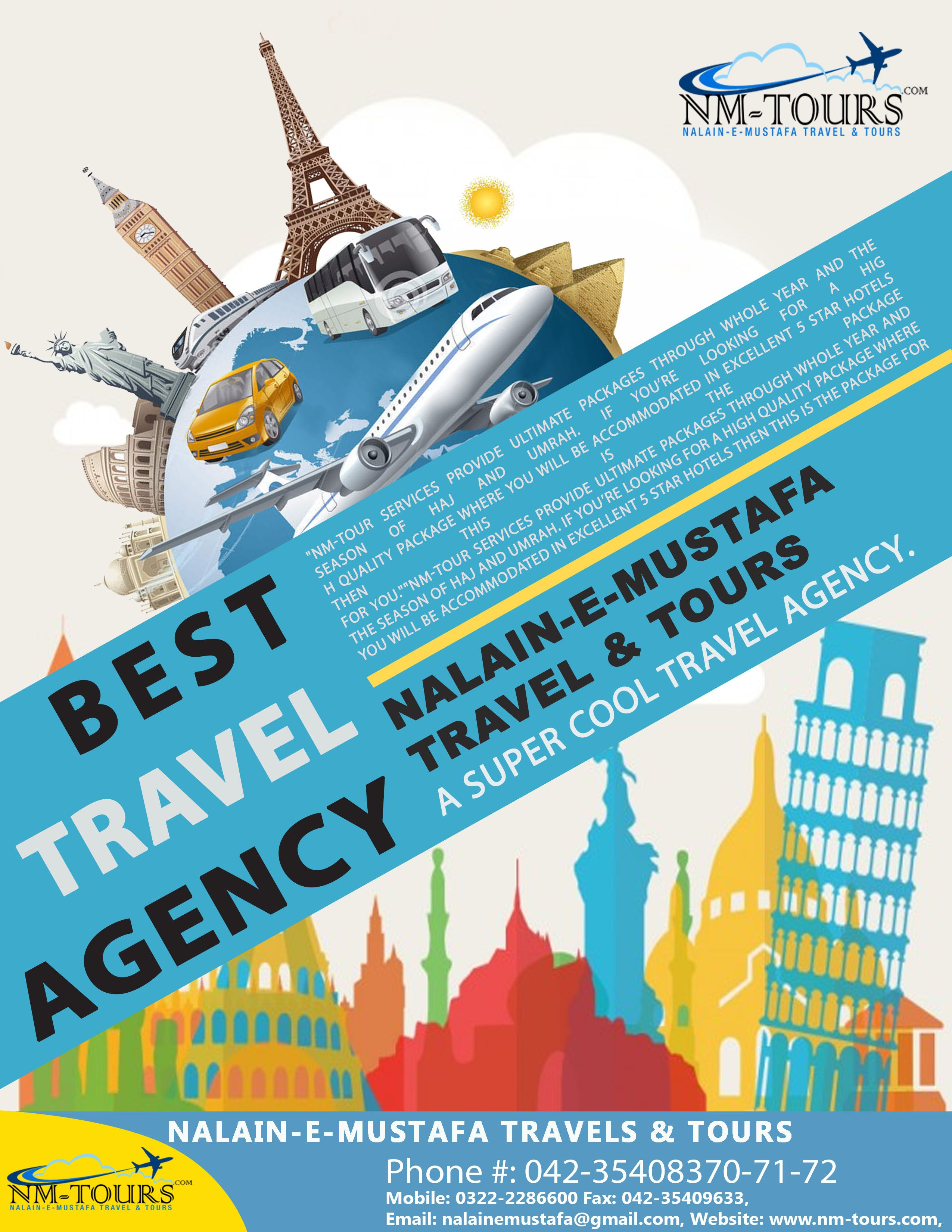 NMTours #Worldwide #Travel and #Tours #Agency Best Travel Agency in