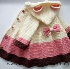 679aeee78d7a Baby Knitting Patterns Cable Knit Elizabeth Coat Free Pattern - Knit Baby  Sweate... Baby Knitting Patterns