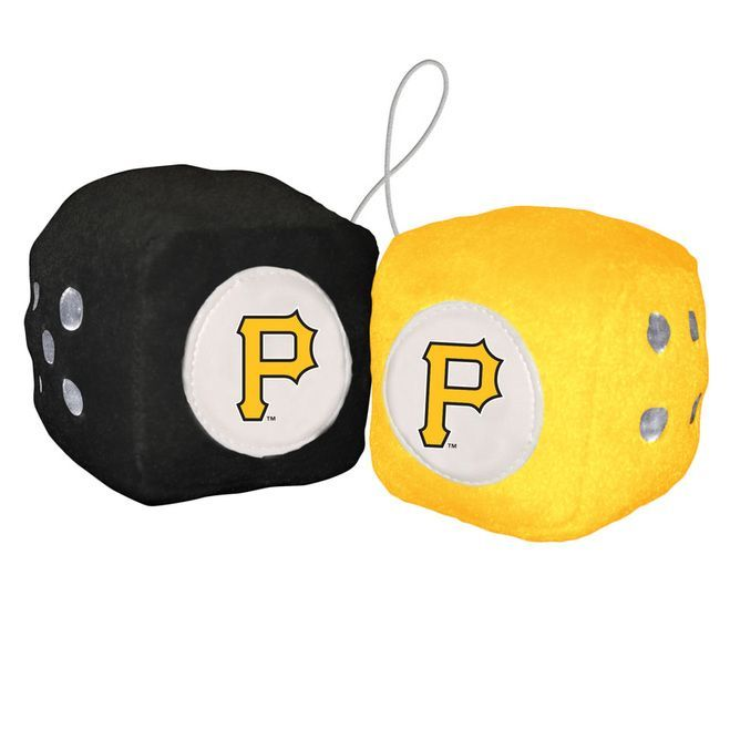 Pittsburgh Pirates Fuzzy Dice