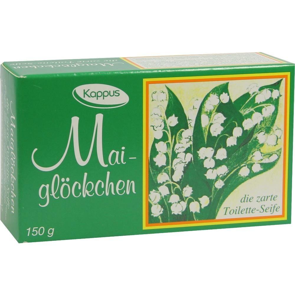 KAPPUS Maigloeckchen Seife:   Packungsinhalt: 150 g Seife PZN: 02647941 Hersteller: M.KAPPUS GmbH & Co. Preis: 0,98 EUR inkl. 19 % MwSt.…