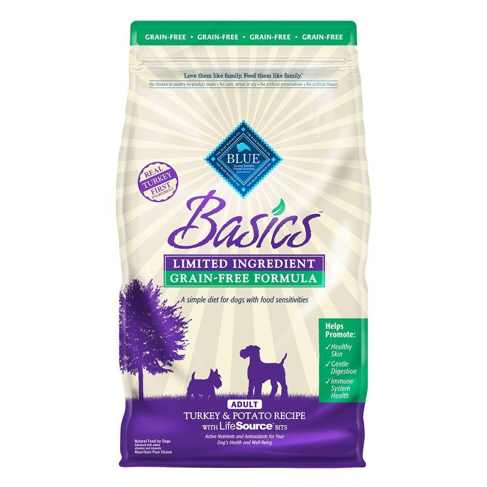 Blue Buffalo Basics Adult Dog Food Limited Ingredient Grain