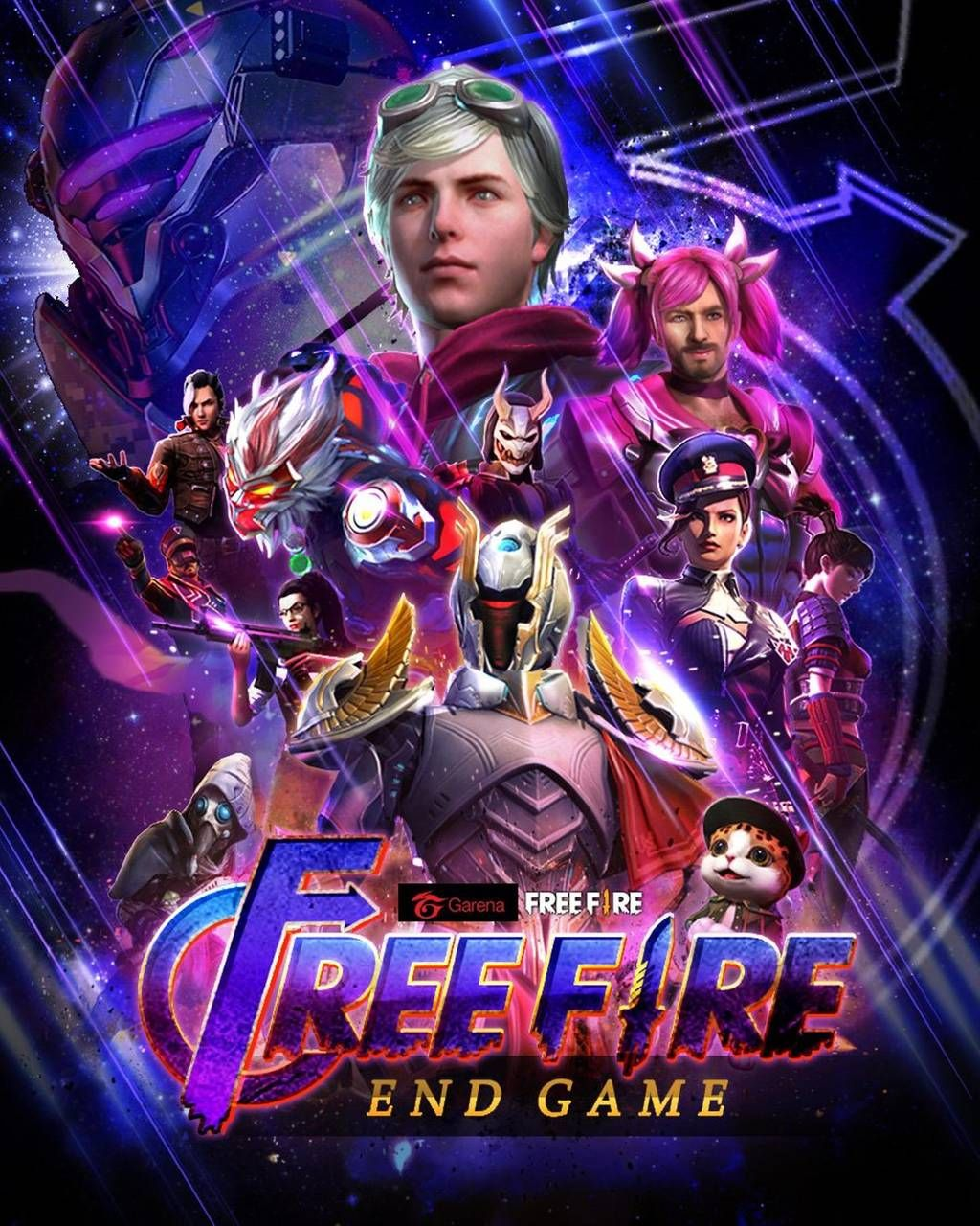 Download Free Fire End Game Wallpaper by Edder211510879