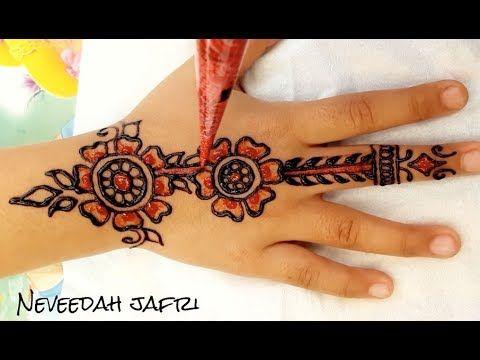 Mehndi Art Designs : ᴴᴰ beautiful henna mehndi art designs best simple