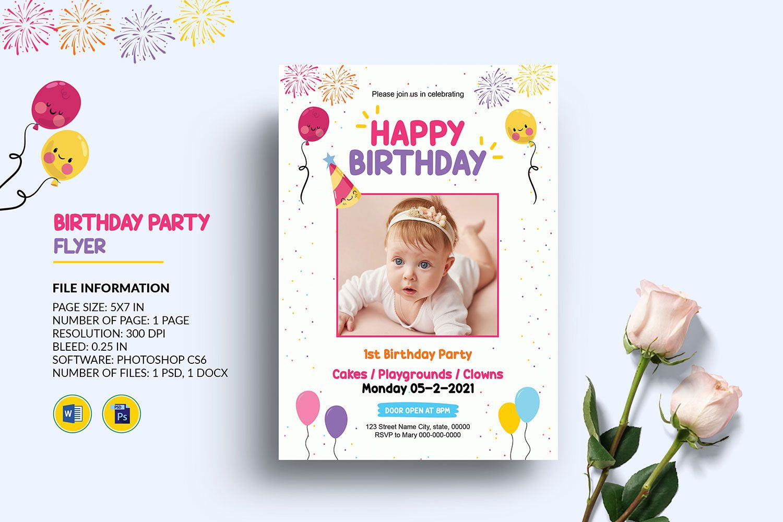 Birthday Invitation Card Template Kids Birthday Party Etsy Birthday Invitation Card Template Kids Birthday Party Invitations Birthday Invitations