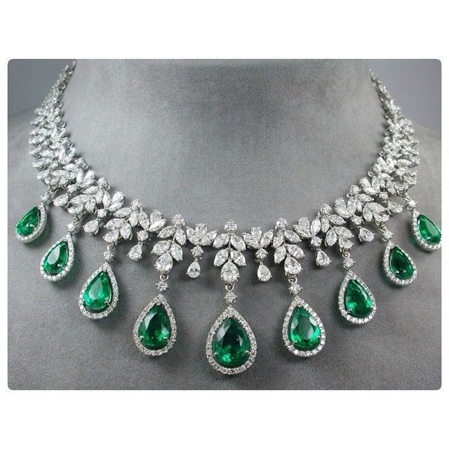 25 Best Ideas About Emerald Necklace On Pinterest Raw