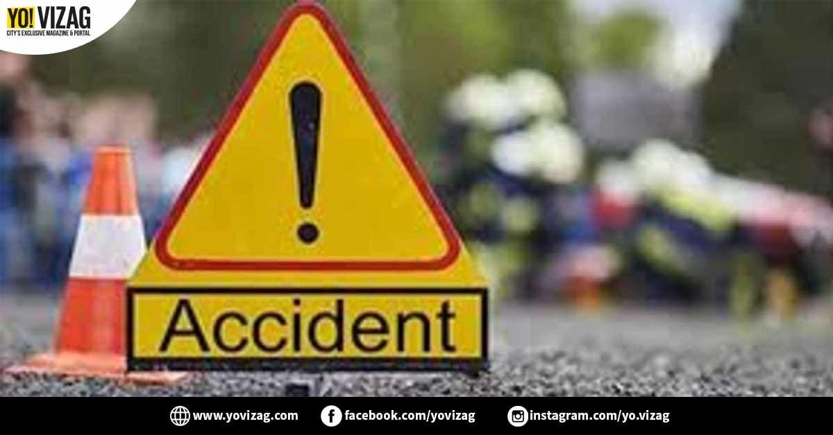 Horrific Road Accident Kills Three Individuals In Visakhapatnam