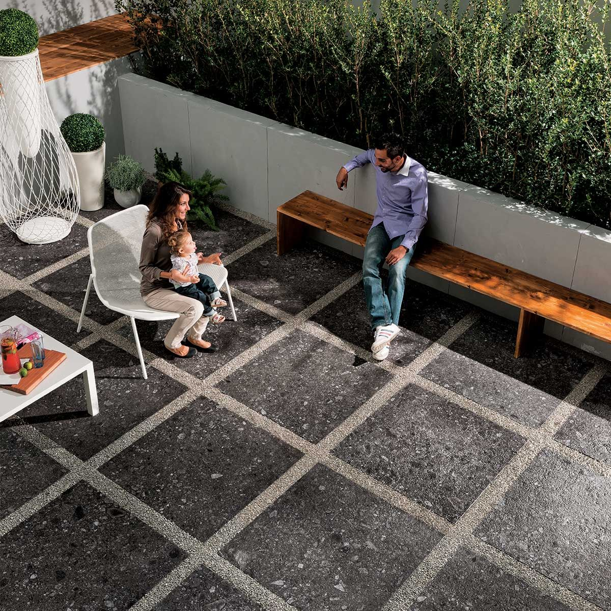Ecco Mineral Stone 2 0 Outdoor Tiles Patio Pictures Exterior Tiles