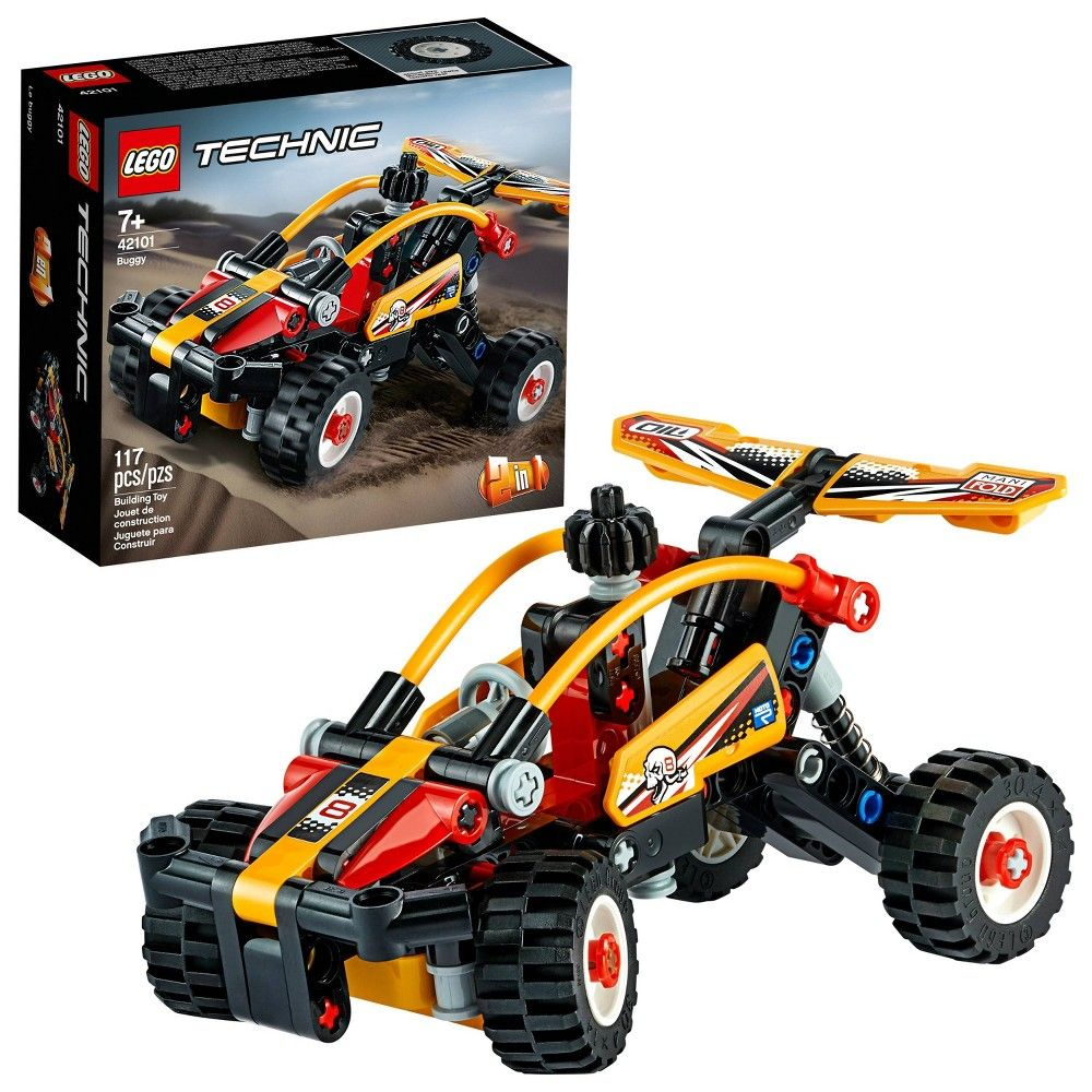 Lego Technic Buggy 42101 2 In 1 Toy Buggy Building Kit In 2020 Lego Technic Buggy Racing Engineering Toys