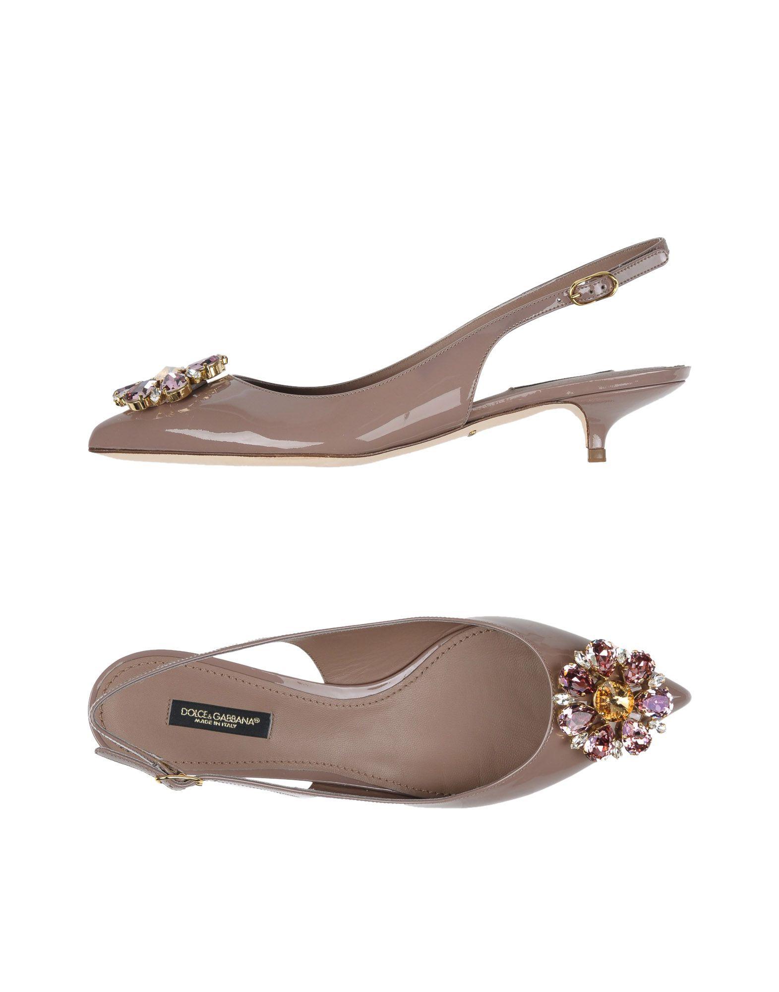 9fe773833a54c6 Dolce   Gabbana Pump - Women Dolce   Gabbana Pumps online on YOOX United  States - 11260613FG
