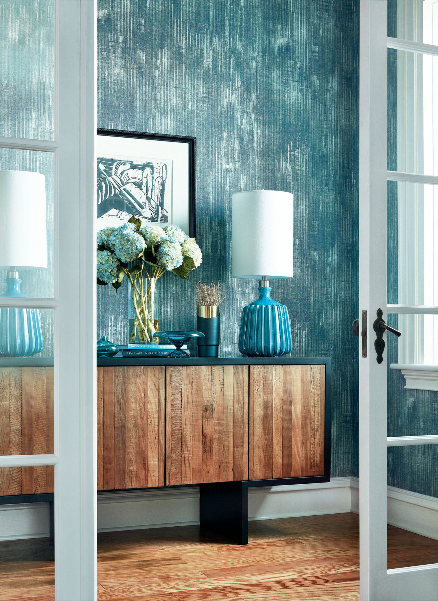 Thibaut Wallpapers Dining room wallpaper, Accent walls