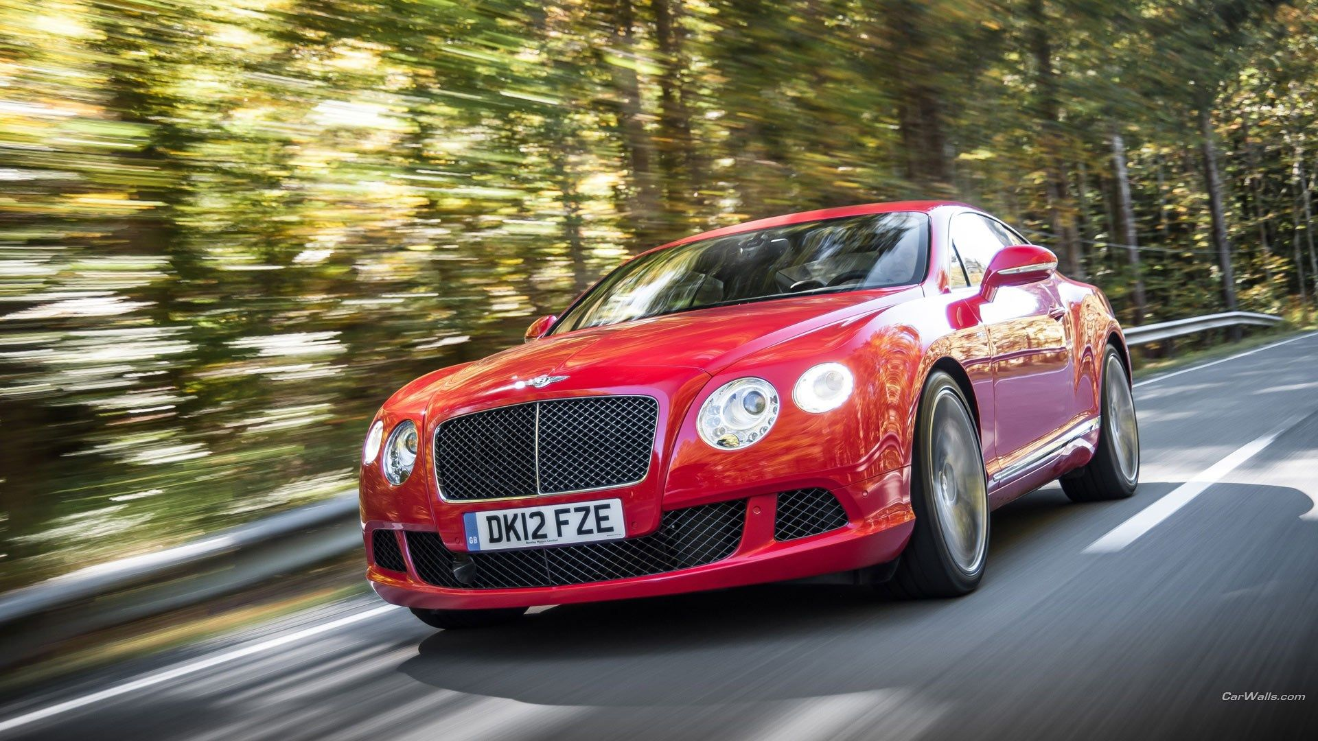 Pretty bentley continental gt speed scream