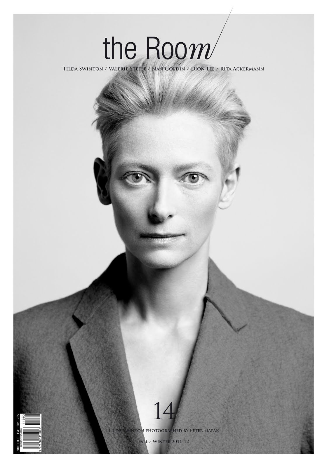 Its TILDA fucking SWINTON.    From the wicked witch in Narnia to her unorthodox taste in fashion.    Did I mention she is an academy-award winner. One of teh few actresses that can really act.
