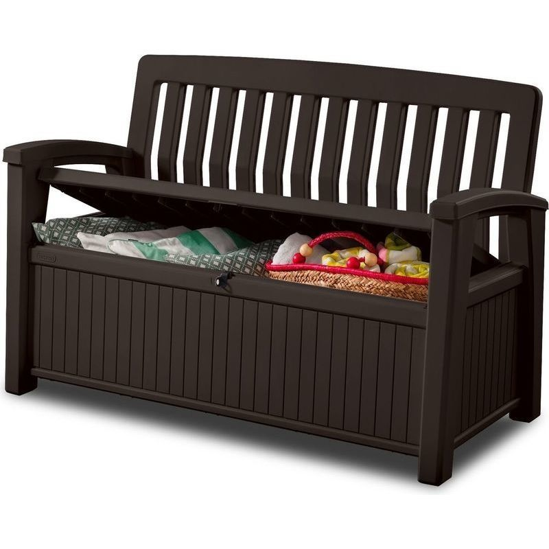 Sensational Keter 2 Seater Outdoor Storage Box Bench 3 Colours In 2019 Lamtechconsult Wood Chair Design Ideas Lamtechconsultcom