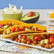 Roasted Chickpea Tacos