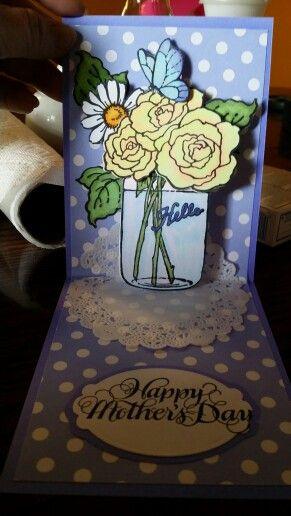 Stampendous Stamp & Dies Set Build a Bouquet with Pop-Up Die Set Flowers